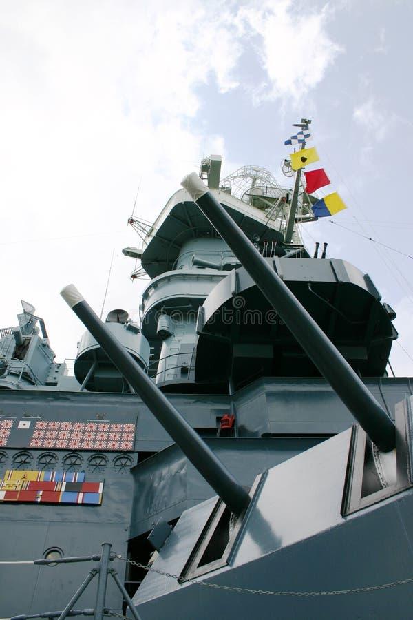Download World War Two Battleship stock photo. Image of steel, angle - 168314