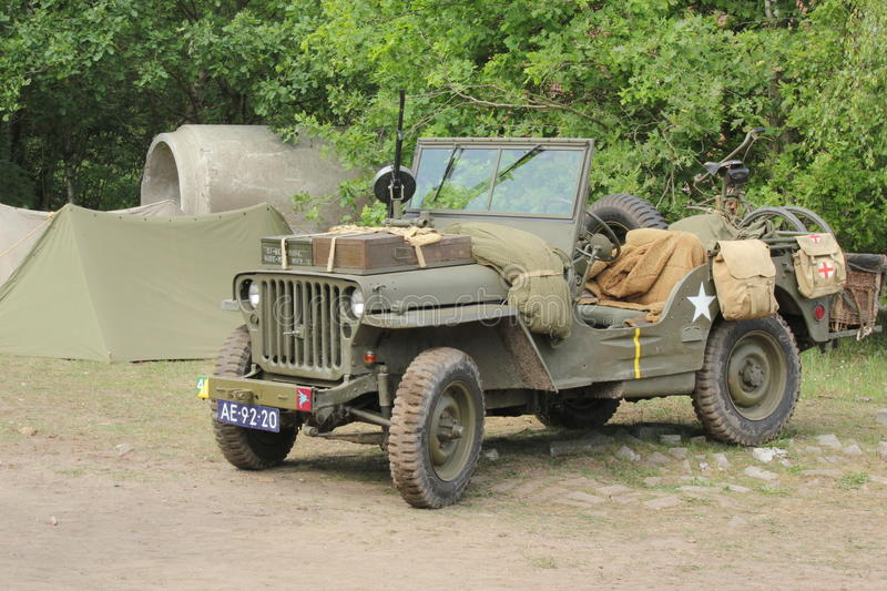 Download World war 2 Willy jeep Usa editorial photo. Image of green - 34215301