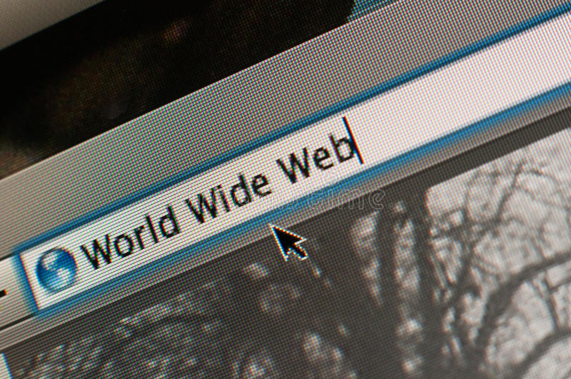 World Wide Web stockfotos