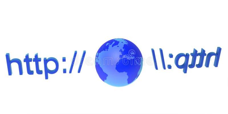 World Wide Web stock de ilustración