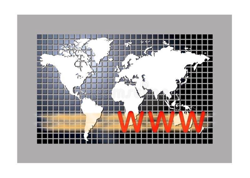 Download World wide web stock illustration. Illustration of land - 14176467