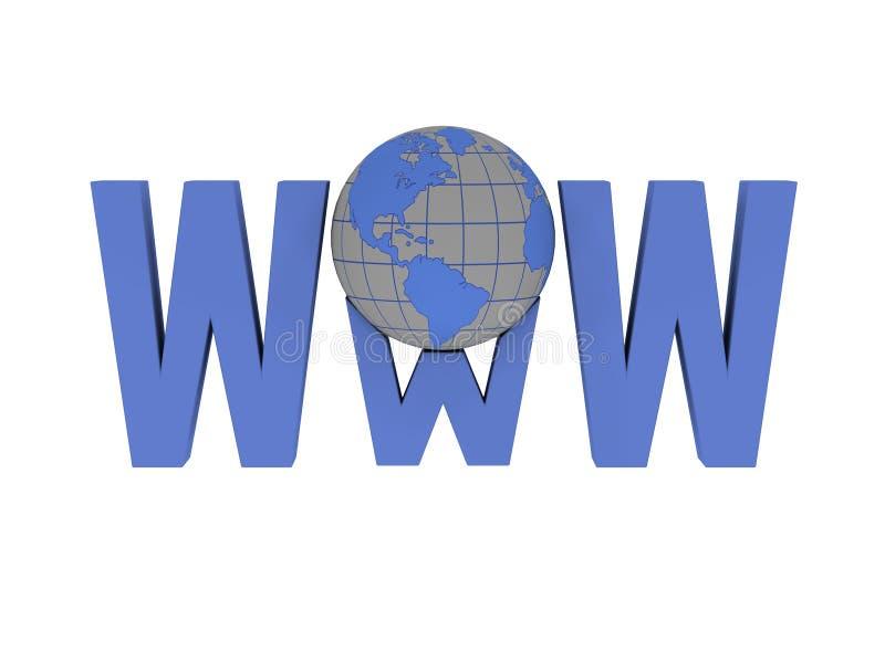 World Wide Web illustration libre de droits