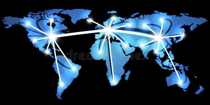 World Wide Web illustration stock