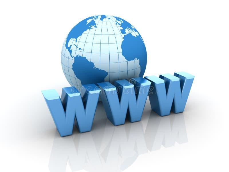 World wide web vektor illustrationer