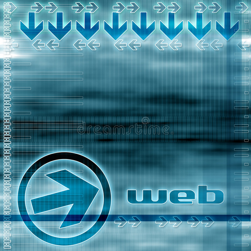 World wide web stock illustration