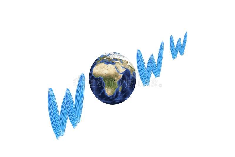 World Wide Web imagens de stock royalty free