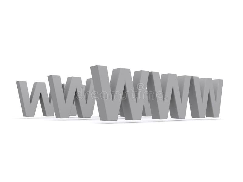 World wide web vector illustration