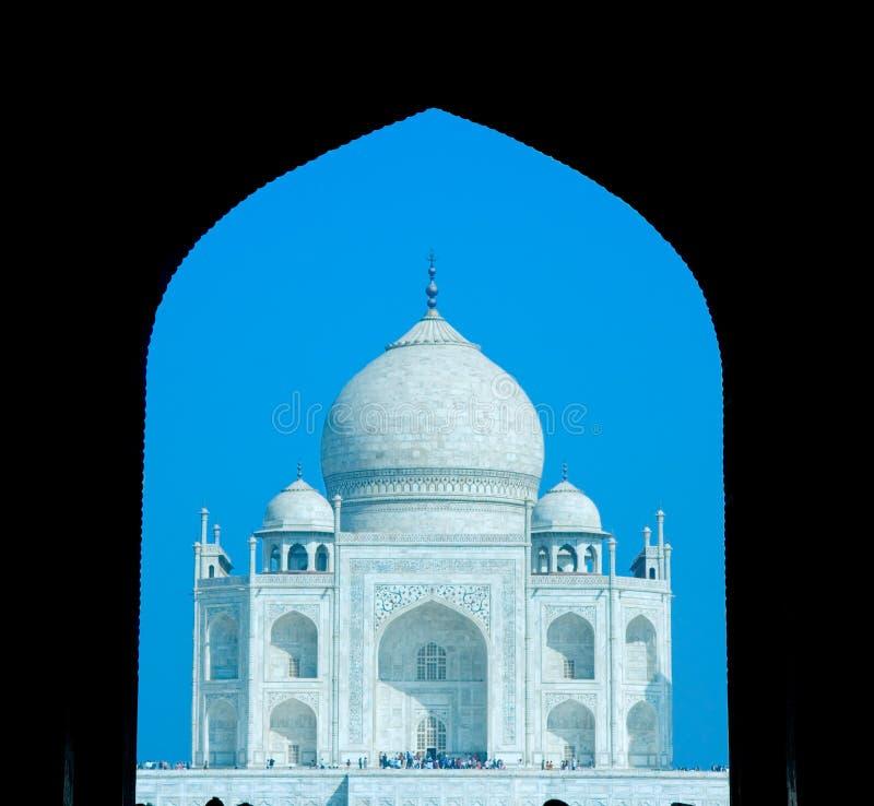 World wonder Taj Mahal in early morning