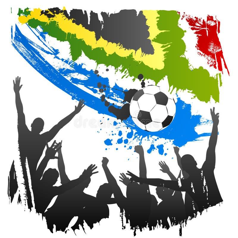 Worldcup Afrique du Sud de vecteur illustration libre de droits