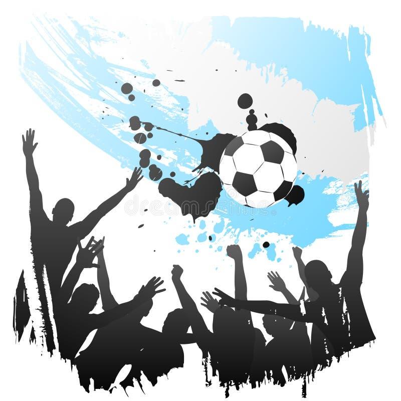Worldcup Argentine de vecteur illustration libre de droits