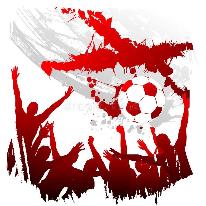 Worldcup Inglaterra do vetor ilustração stock