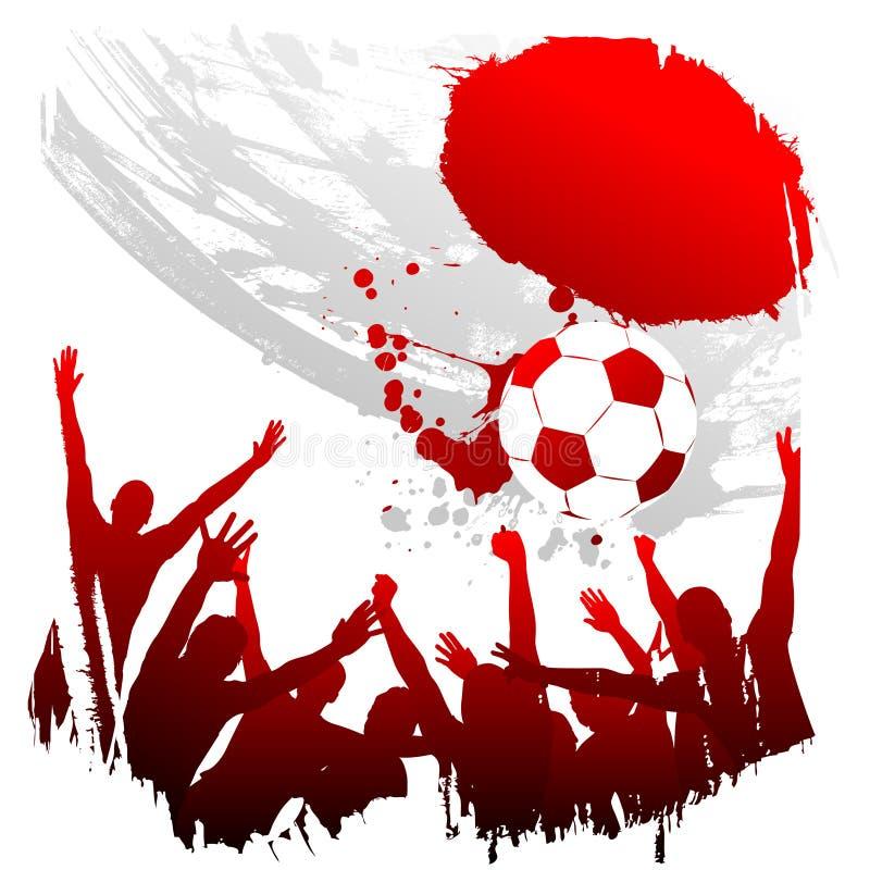 Worldcup Japon de vecteur illustration libre de droits