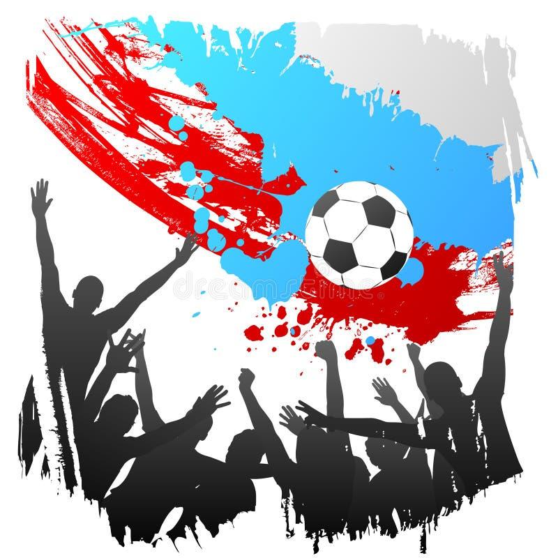 Worldcup Rusia del vector ilustración del vector