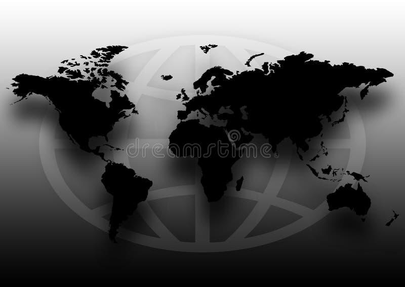 Worldmap illustrazione vettoriale