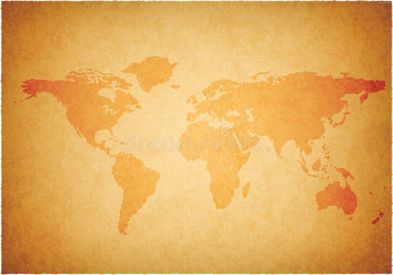 Worldmap stock illustration
