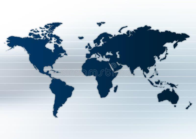 Download Worldmap Layout stock illustration. Image of america, digital - 2191648