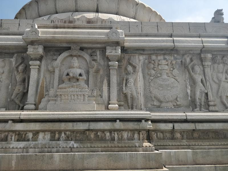 Buddha Statue of Hyderabad stock images