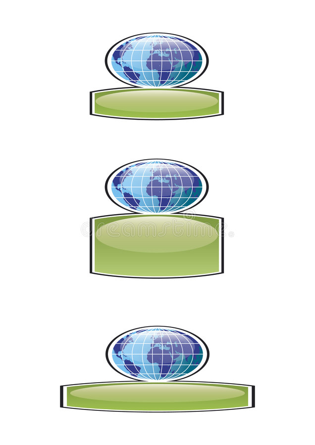 Download Worldwide badges stock vector. Image of organization, icon - 8155907