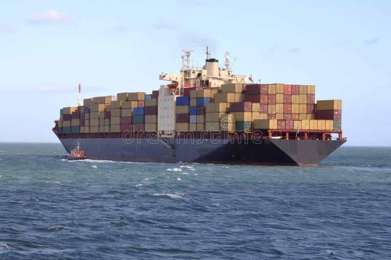 Worldwide exporting stock image