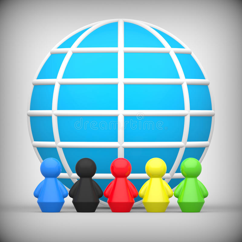 Download Worldwide Friendship Concept Stock Illustration - Image: 33422341