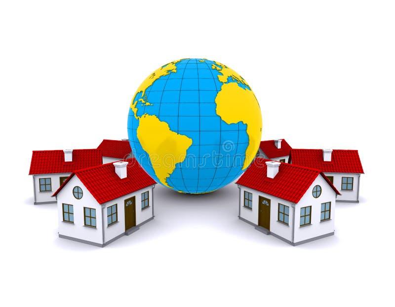 Download Worldwide Properties stock illustration. Illustration of housing - 20740561