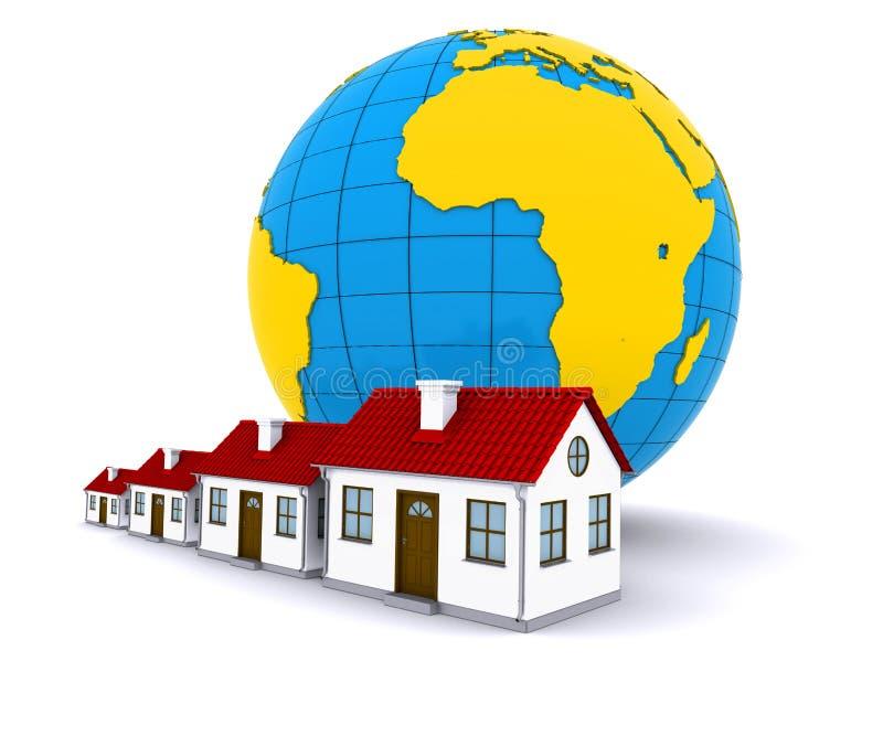 Download Worldwide Properties stock illustration. Image of property - 20910197