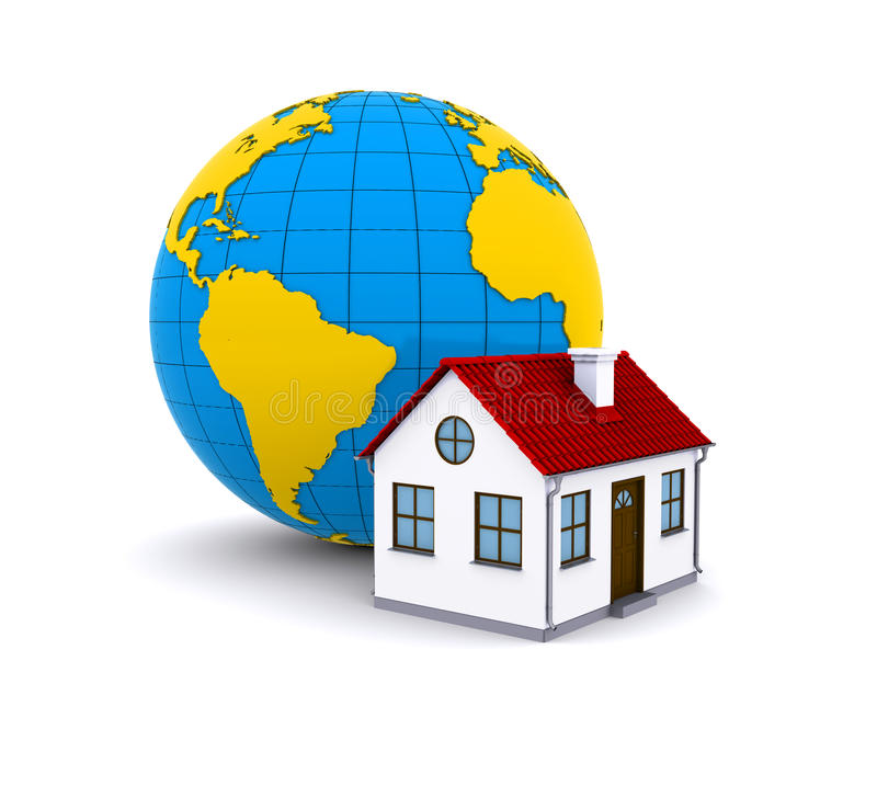 Download Worldwide Properties stock illustration. Image of business - 21814896