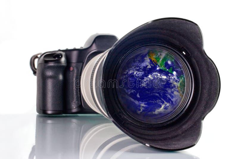 Worldwide shooting stock photo
