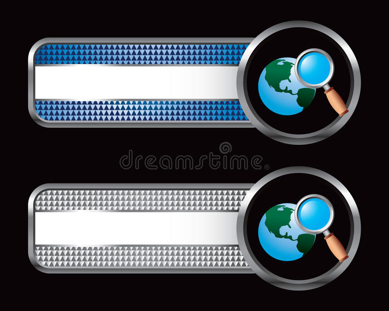 Download Worldwide Web Search On Specialized Banners Stock Vector - Image: 11078711