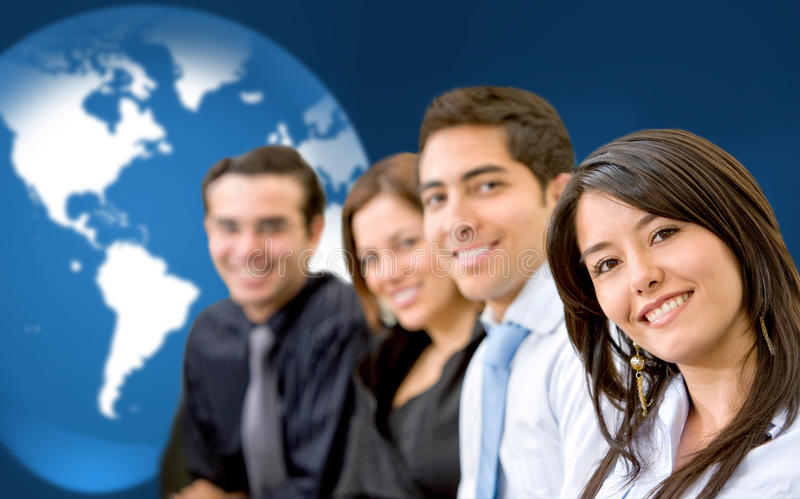 Download Worlwide business stock photo. Image of smiley, businesspeople - 10476380