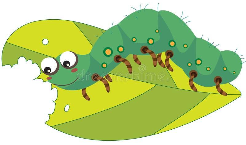 Worm stock illustratie