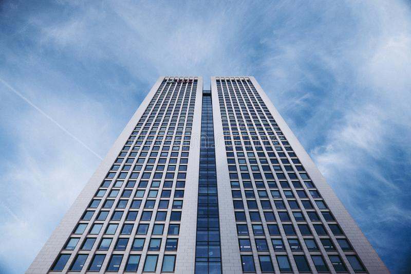 Worm's Eye View Photo Of High-rise Building stock photos