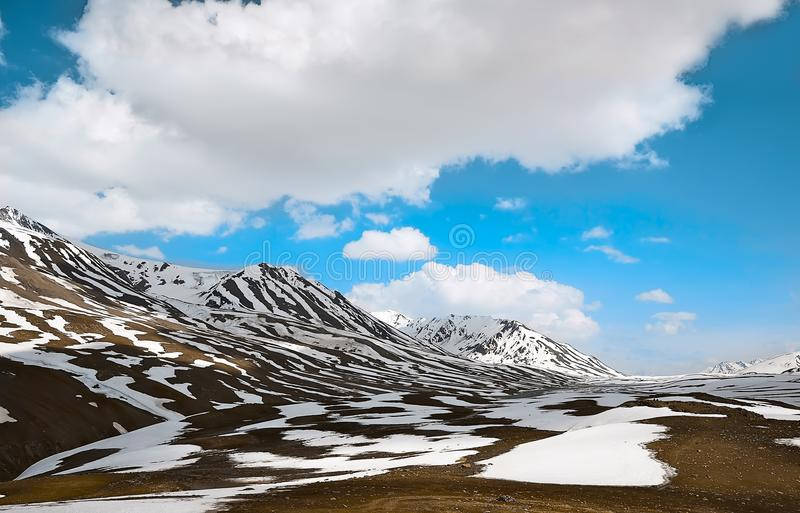 Worm's Eye View Photography of Alps Mountains stock photos