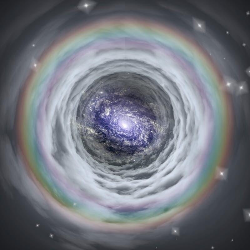 wormhole ilustracja wektor