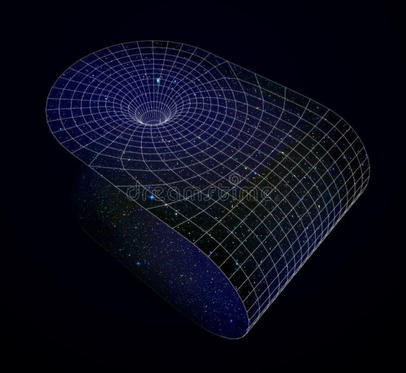 wormhole ilustración del vector