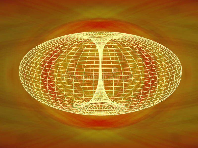 Download Wormhole Diagram stock illustration. Image of astrophysics - 24245841