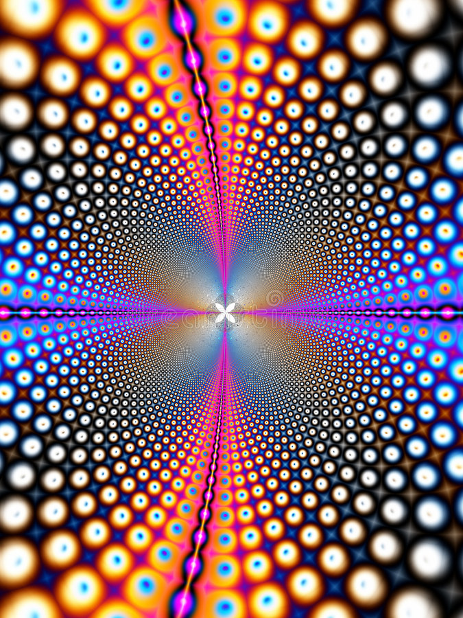 Wormhole interstellare illustrazione di stock