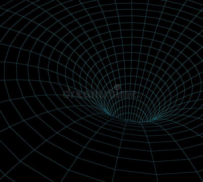 Wormholemodell vektor abbildung