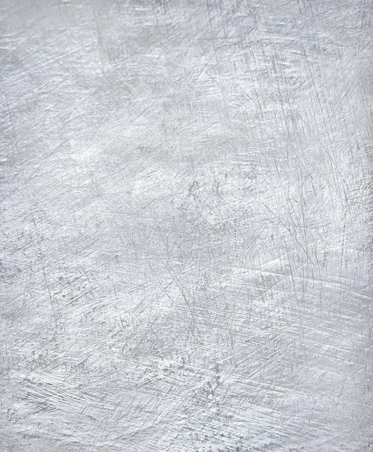 Worn металлопластинчатая стальная предпосылка foil серебр стоковое фото
