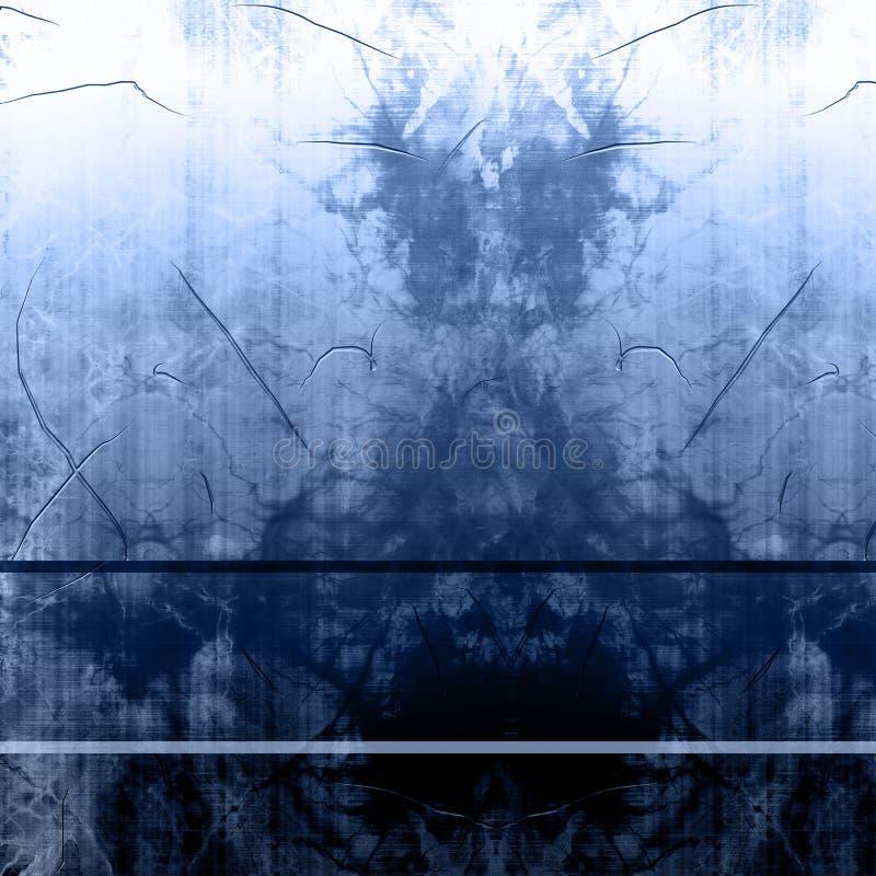 Worn металлопластинчатое иллюстрация штока