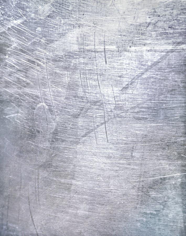 Worn металлопластинчатая стальная предпосылка стоковое изображение rf