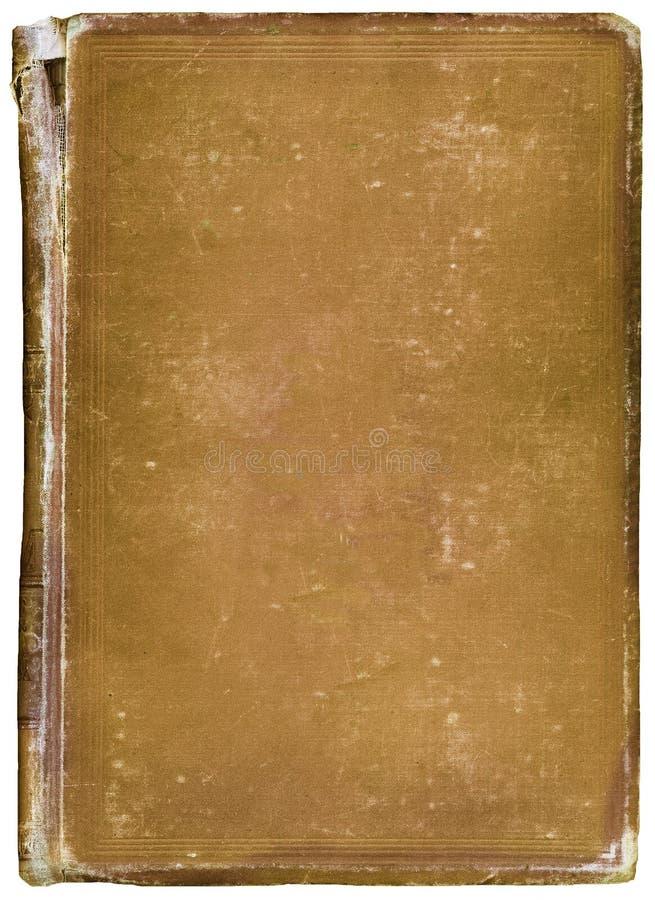 Worn antique book stock image