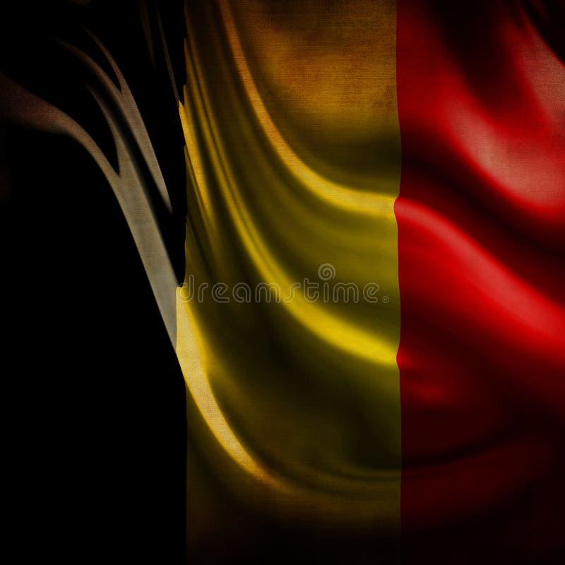 Free Worn Belgian Flag Stock Photo - 4282280