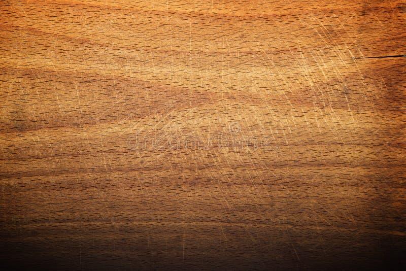 Worn Butcher Block Cutting And Chopping Board As