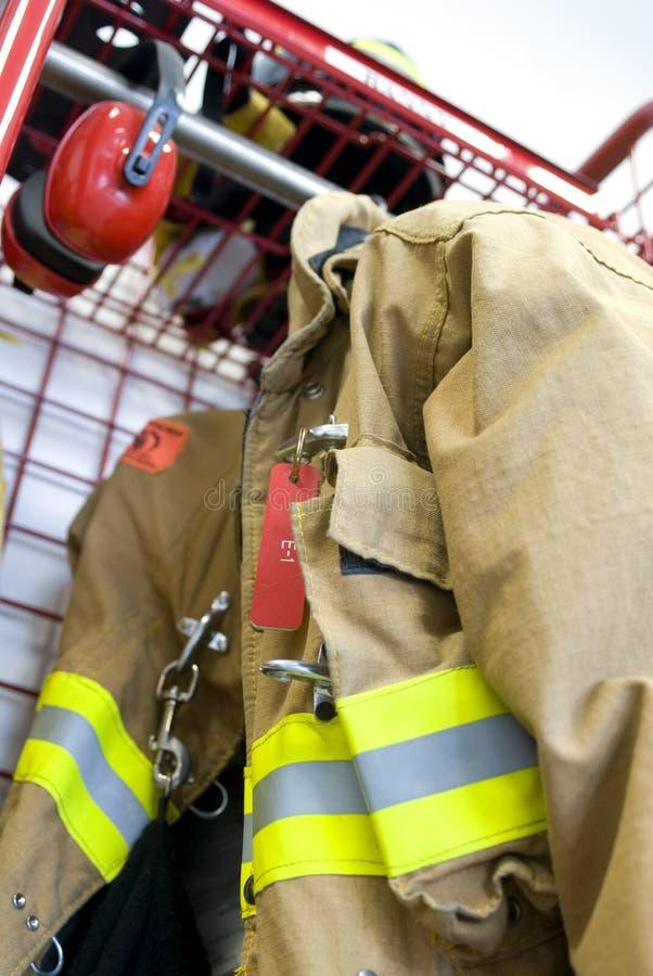Free Worn Fireman Coat Stock Image - 1362331