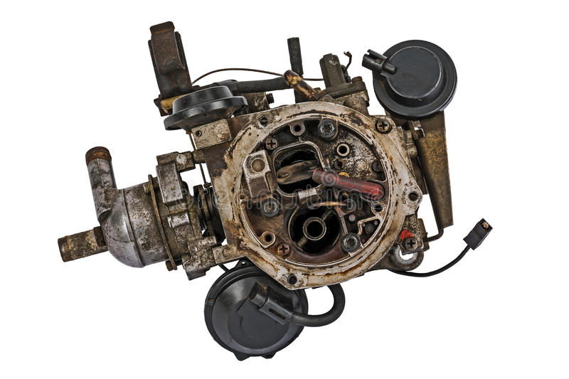 Download Worn out carburetor stock photo. Image of part, recyclable - 30587286