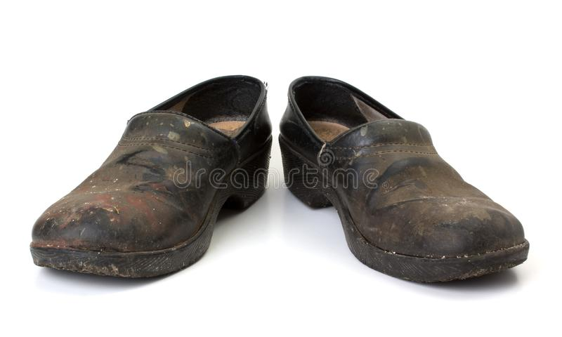 Download Worn out clogs stock image. Image of footwear, dirty - 22399277