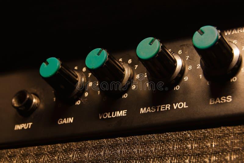 Worn-out guitar amplifier