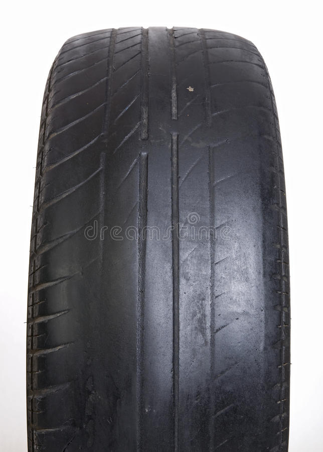 Worn Out Tire royalty free stock image