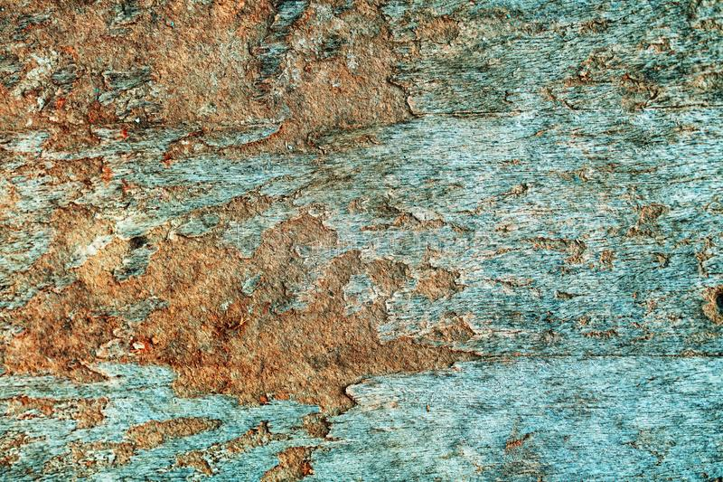Worn plywood surface texture. As grunge background royalty free stock image